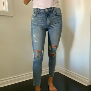 AGOLDE distressed jeans, size 27